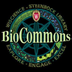 BioCommons in Steenbock Library Logo