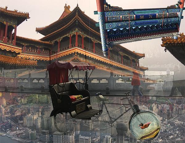 Eastern - digital image by Shuo Sun