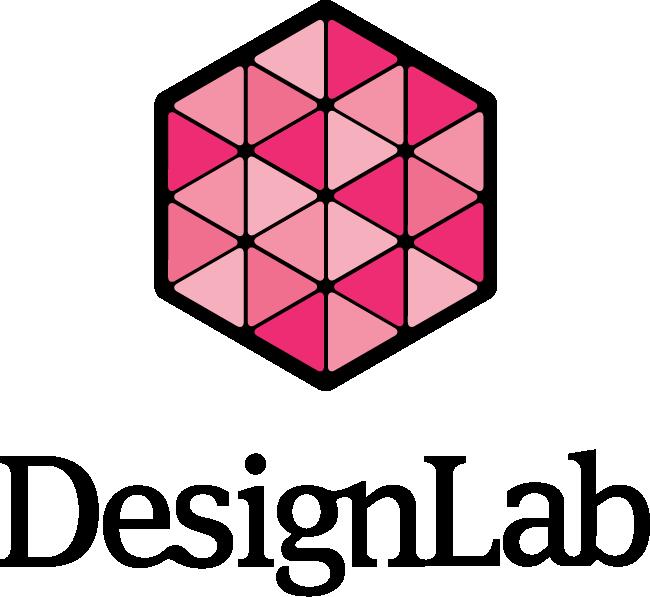 DesignLab Magenta Logo with Ligature