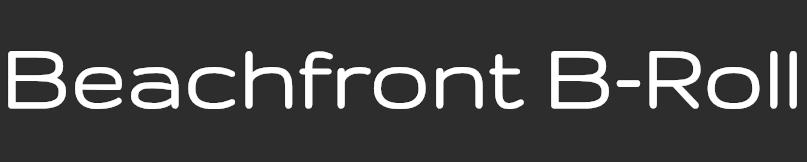 Beachfront B-Roll Logo