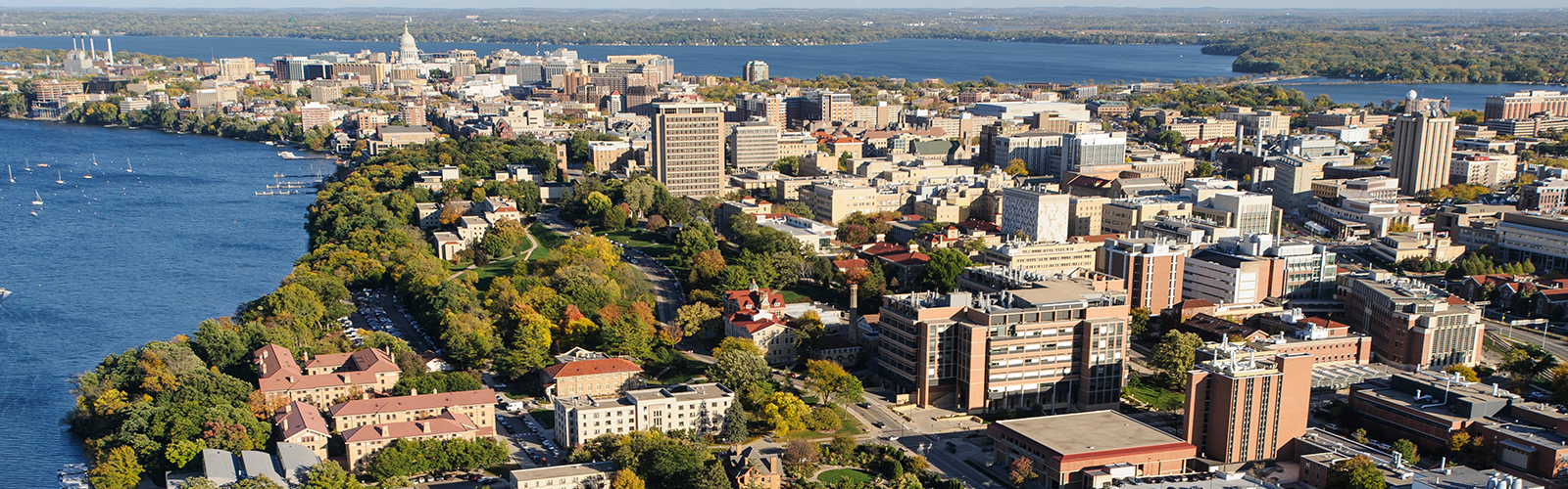 Bottom Image - UW-Madison Aerial Skyline