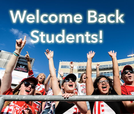 Welcome Back Students Image
