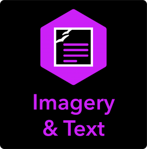 See the Imagery & Text Instructional Packages by clicking this button